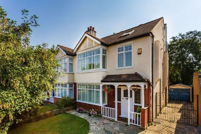 Thumbnail Semi-detached house for sale in Keswick Avenue, Merton Park