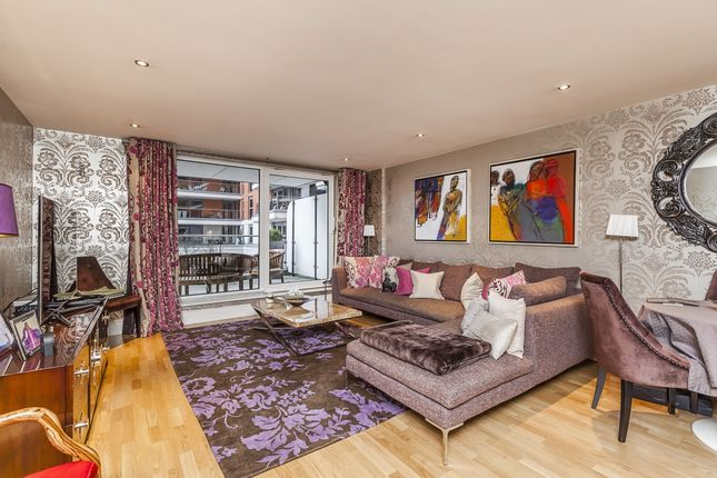 Thumbnail Flat to rent in The Boulevard, Imperial Wharf, London