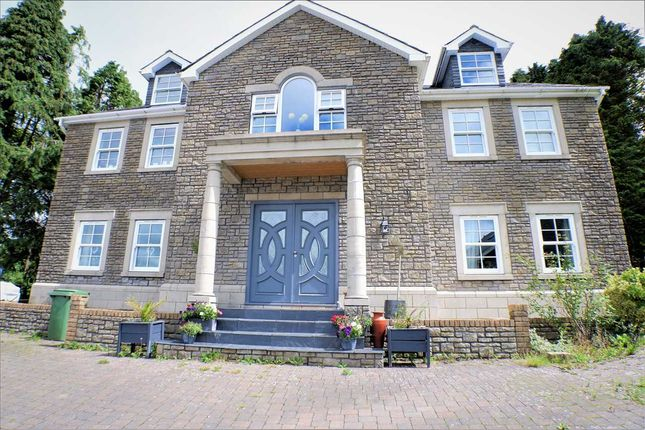 Thumbnail Detached house for sale in Ty-Carreg, Gilfach Farm, Hill Street, Porth