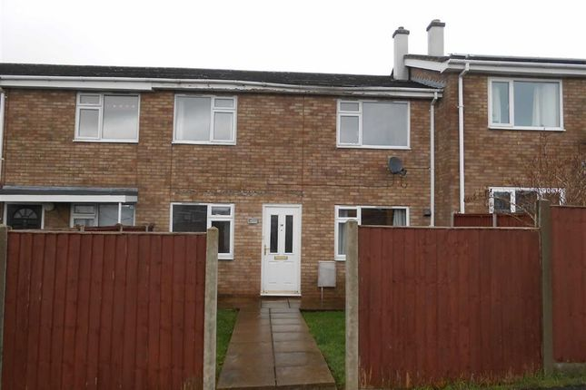 Thumbnail Terraced house to rent in Withies Close, Hereford, Herefordshire