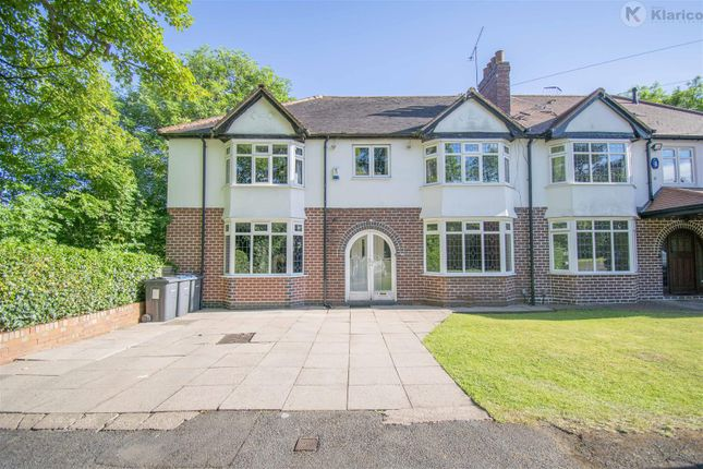 Thumbnail Semi-detached house for sale in Green Road, Moseley, Birmingham
