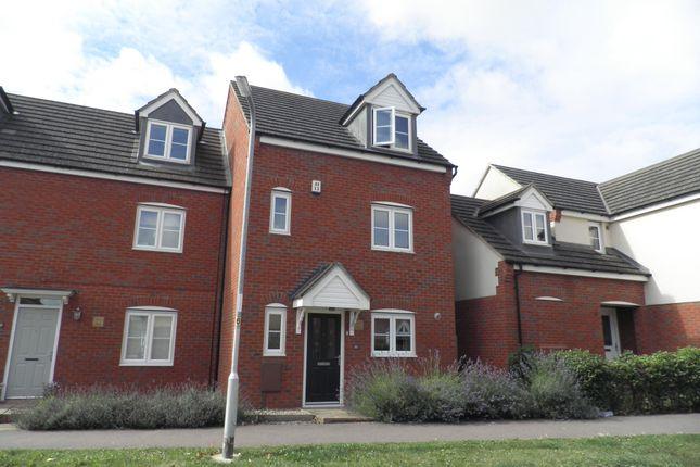 Thumbnail Property to rent in Milburn Drive, Northampton