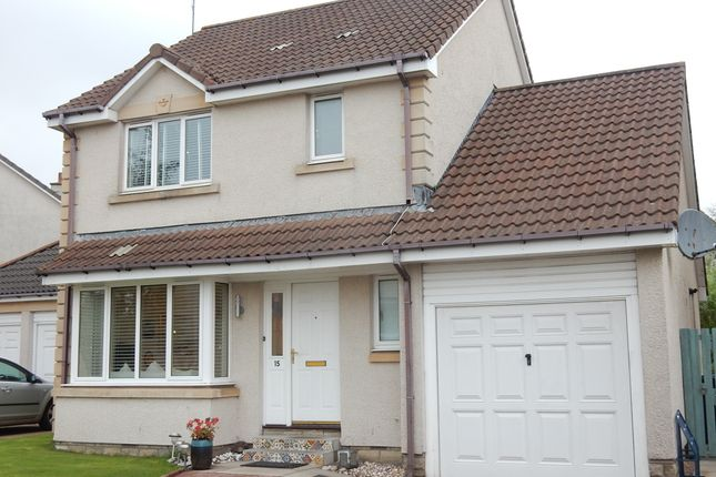 Thumbnail Detached house for sale in Broadstraik Gardens, Elrick, Westhill