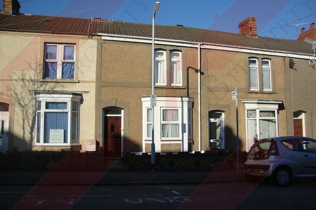 Thumbnail Terraced house to rent in Marlborough Road, Brynmill, Swansea