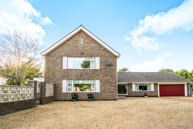 Thumbnail Detached house for sale in Hobland Road, Bradwell, Great Yarmouth