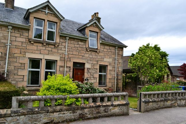 Thumbnail Semi-detached house for sale in The Nethy, Invererne Road, Forres