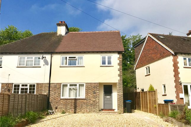 Thumbnail Semi-detached house to rent in Johnsdale, Oxted, Surrey