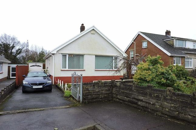 Thumbnail Detached bungalow for sale in Enfield Close, Cwmrhydyceirw, Swansea