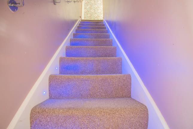 Stairs of Berry Street, Burnley, Lancashire BB11