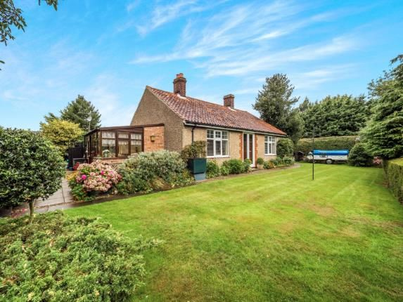 Thumbnail Bungalow for sale in Smallburgh, Norwich, Norfolk