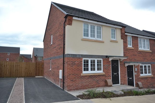 Thumbnail Semi-detached house to rent in Trinity Parade, Trinity Street, Hanley, Stoke-On-Trent