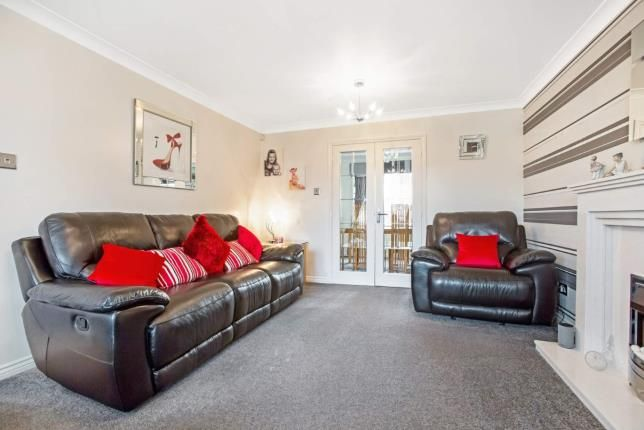 Lounge of Berryhill Crescent, Wishaw, North Lanarkshire ML2