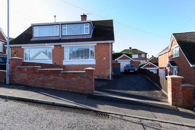 Thumbnail Semi-detached house for sale in Casaeldona Park, Belfast