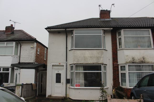 Thumbnail Semi-detached house to rent in Rosedale Avenue, Leicester