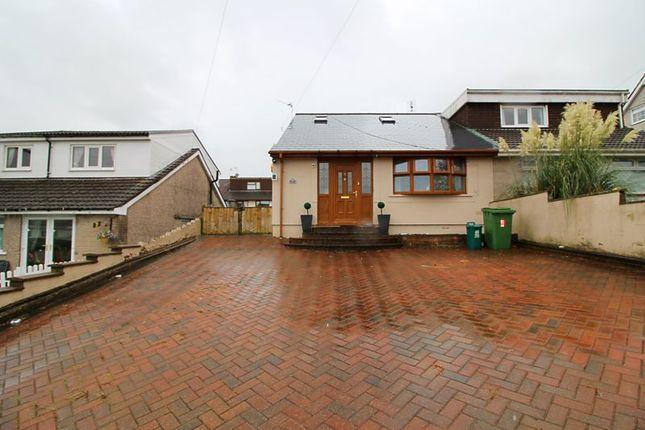 Thumbnail Semi-detached bungalow for sale in Elmgrove Close, Pontypridd