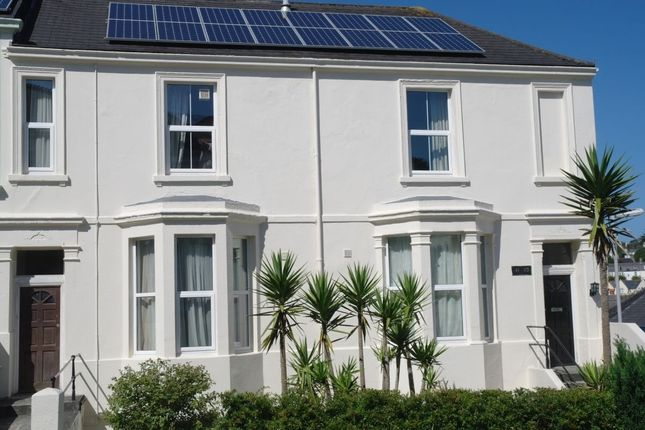 Thumbnail Terraced house for sale in Furzehill Road, Mutley, Plymouth