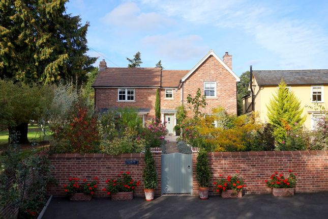 Thumbnail Detached house for sale in Cemetery Lane, East Bergholt, Colchester