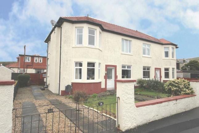 Thumbnail Flat for sale in Huttonpark Crescent, Largs, North Ayrshire