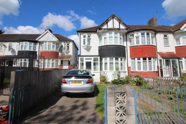 Thumbnail End terrace house for sale in Falcon Crescent, Ponders End, Enfield