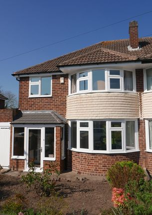 Thumbnail Semi-detached house to rent in Salisbury Drive, Water Orton, West Midlands