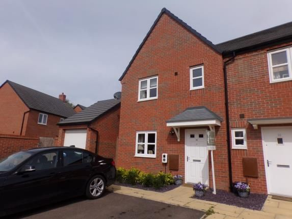 Thumbnail Semi-detached house for sale in Rideau Road, Meon Vale, Stratford-Upon-Avon