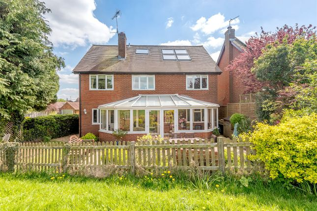 Thumbnail Detached house for sale in Adams Close, North Warnborough, Hook, Hampshire
