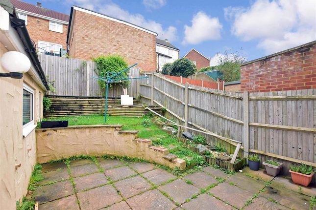 Rear Garden of Limetree Close, Chatham, Kent ME5