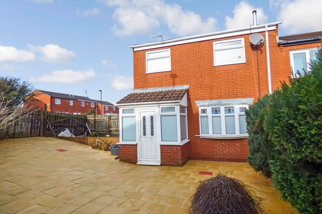 Semi-detached house for sale in Rowell Close, Sunderland