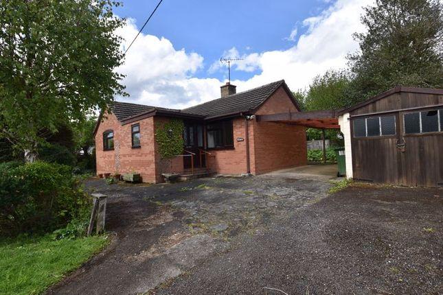 Thumbnail Detached bungalow for sale in Wyson, Brimfield, Ludlow