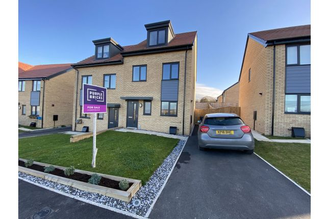 3 bed semi-detached house for sale in Diamond Jubilee Way, Edlington, Doncaster DN12