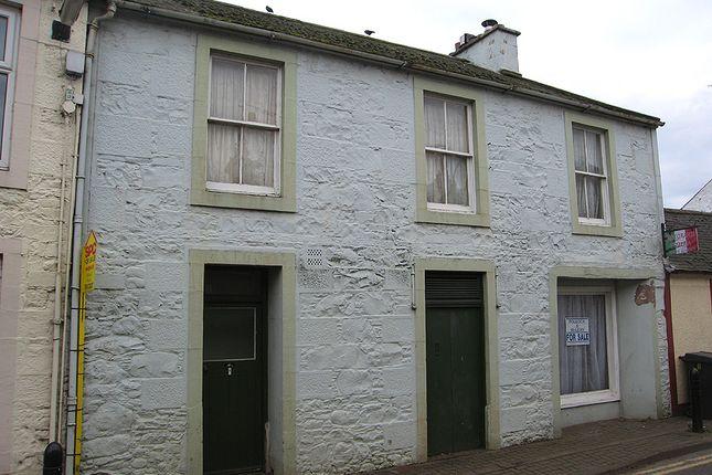 Thumbnail Town house for sale in Ebruchie, High Street, Moniaive