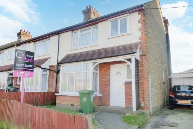Thumbnail End terrace house to rent in Barton Road, Maidstone