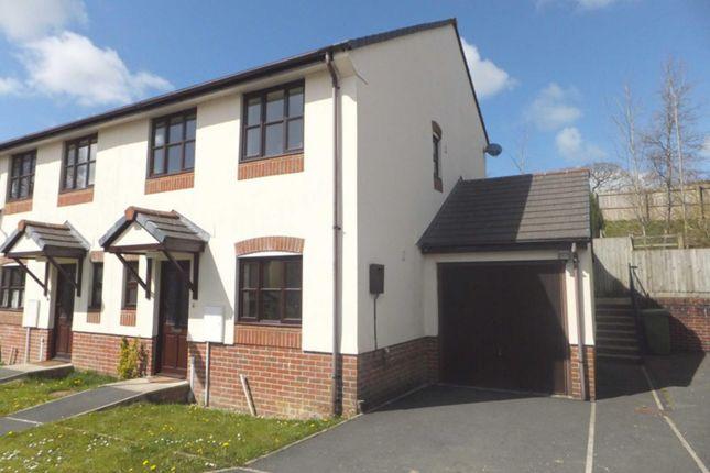 Thumbnail End terrace house to rent in Great Oak Meadow, Holsworthy
