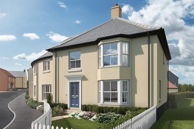 Thumbnail Semi-detached house for sale in Oldridge Road, Chickerell, Weymouth