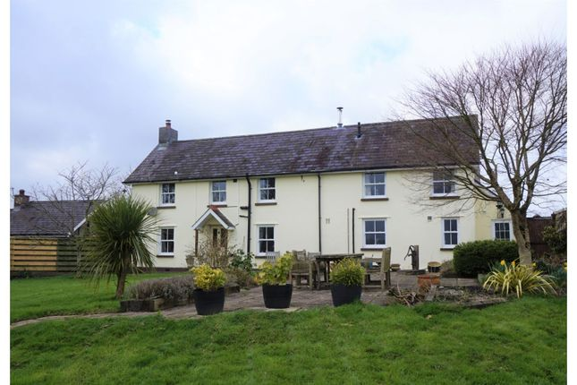 Thumbnail Equestrian property for sale in Cwmifor, Llandeilo