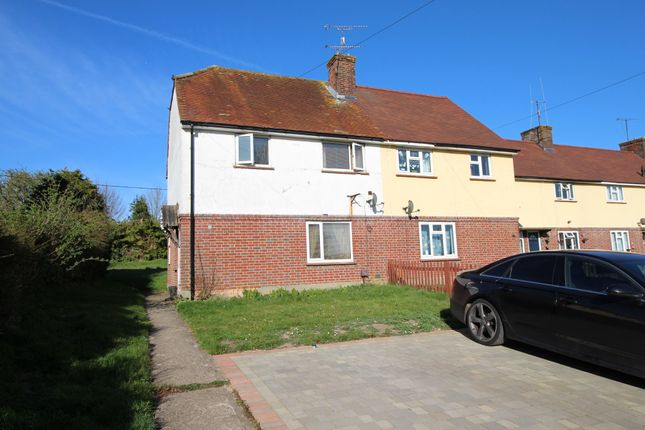 Thumbnail Semi-detached house for sale in Honey Hill, Lambourn, Hungerford