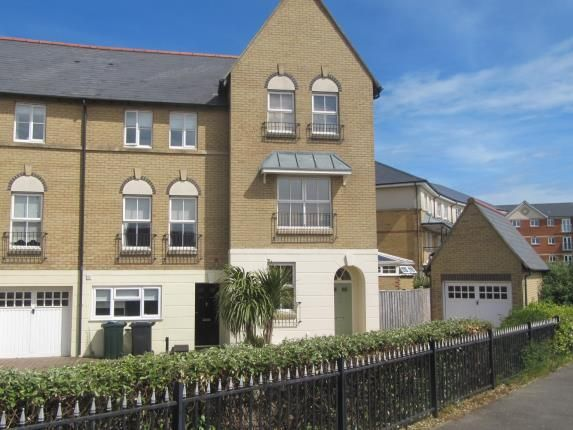 Thumbnail End terrace house for sale in Admiralty Crescent, Eastbourne, East Sussex