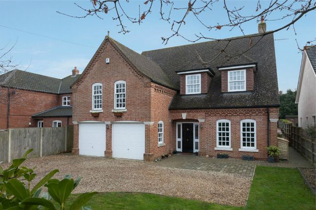 Thumbnail Detached house for sale in Sandy Lane, Taverham, Norwich