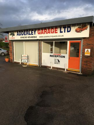 Thumbnail Commercial property for sale in Mot & Vehicle Repair Garage TF9, Adderley, Shropshire