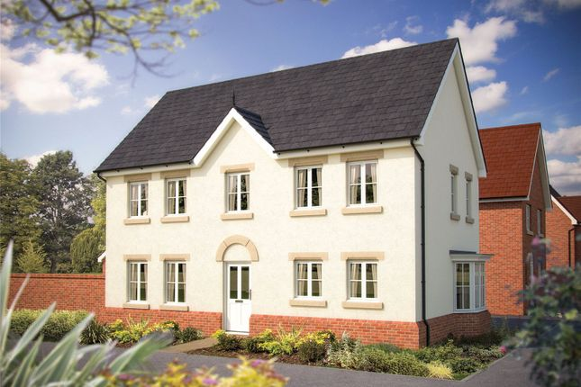 Thumbnail End terrace house for sale in Plot 40 - Windlesham, Ribbans Park, Foxhall Road, Ipswich, Suffolk