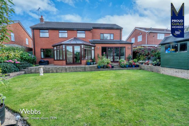 Thumbnail Detached house for sale in Mount Pleasant, Cheslyn Hay, Walsall