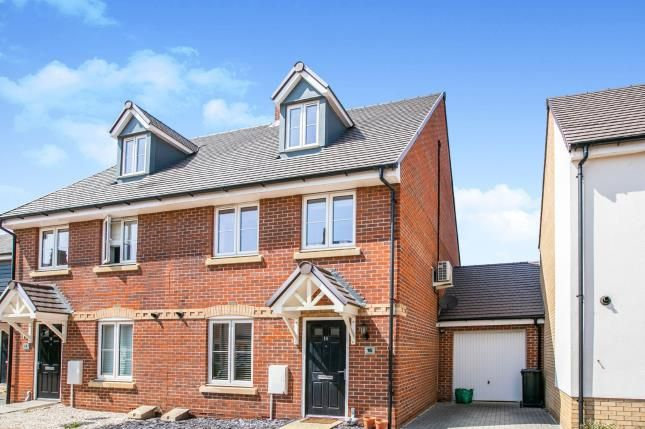Thumbnail Semi-detached house for sale in Chamberlain Park, Biggleswade, Bedfordshire