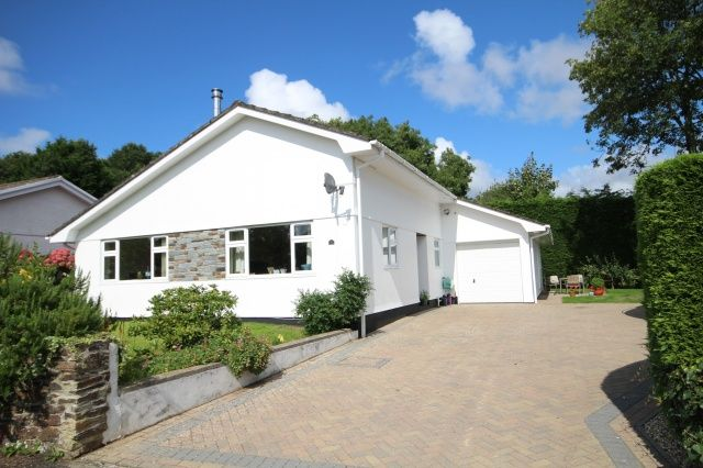 Thumbnail Bungalow for sale in St. Cleer Drive, Wadebridge
