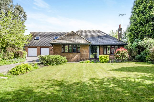 Thumbnail Detached bungalow for sale in Birkwood Road, Altofts, Normanton