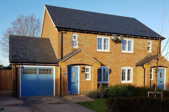 Thumbnail Semi-detached house for sale in Wisden Walk, Henfield
