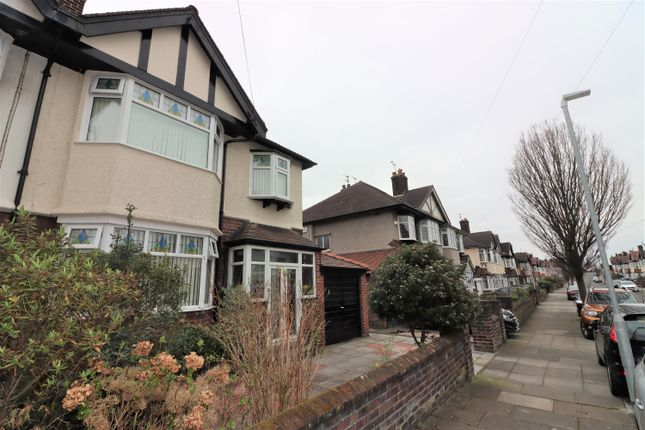 Thumbnail Semi-detached house for sale in Vyner Road, Wallasey