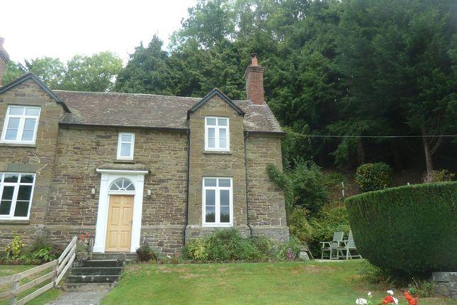 Thumbnail Farmhouse to rent in Glenburrell Farm Cottage, Horderley, Craven Arms
