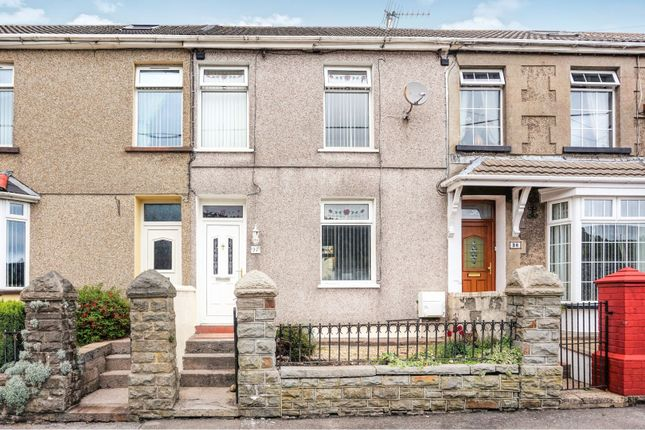 Thumbnail Terraced house for sale in Vicarage Terrace, Cwmparc, Treorchy