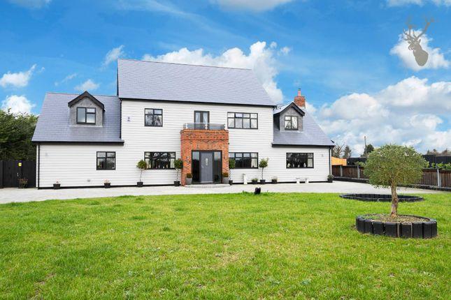 Thumbnail Detached house for sale in Tysea Hill, Stapleford Abbotts, Romford