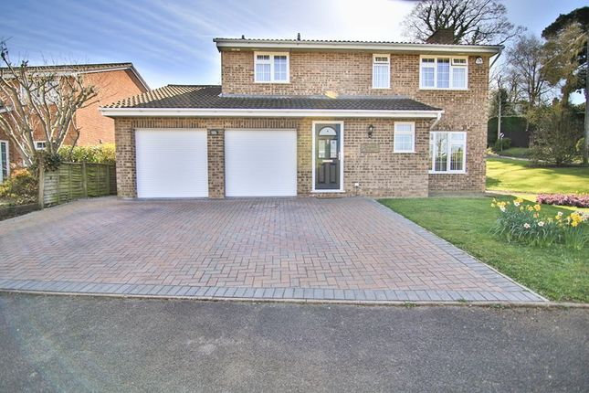 Thumbnail Detached house for sale in Redwood Close, Ross-On-Wye, Herefordshire
